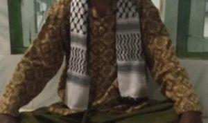 Foto: KH. Sarmada, Ketua Yayasan Raudlatul Murtasyidin, Desa Alas Malang, Kecamatan Raas