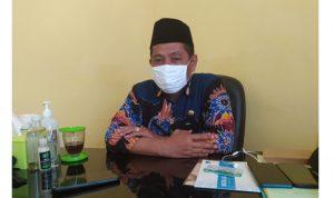 Ketua DPD PPNI Kabupaten Sumenep Moh. Nur Insan saat ditemui diruang kerjanya