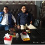 Foto: Slamet Ariyadi, Anggota Komisi IV DPR RI Didampingi Ketua Kamar Dagang dan Industri (KADIN) Kabupaten Sumenep, Hairul Anwar. (Seputarjatim)