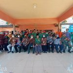 Ket: Foto Bersama Perwakilan Kemendes PDTT Dengan Pemdes Gunggung, Kecamatan Batuan.